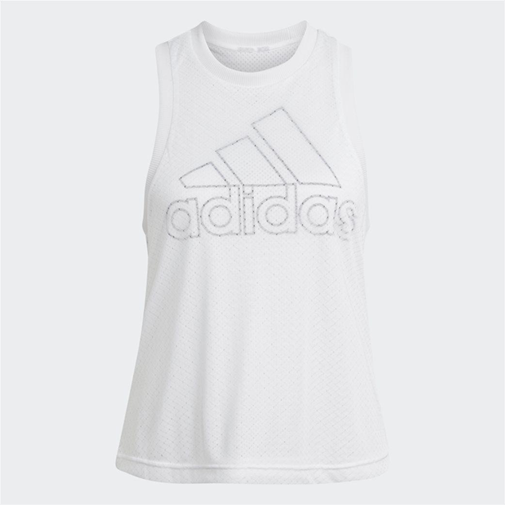 Adidas γυναικεία αμάνικη μπλούζα με διπλό mesh layer 5