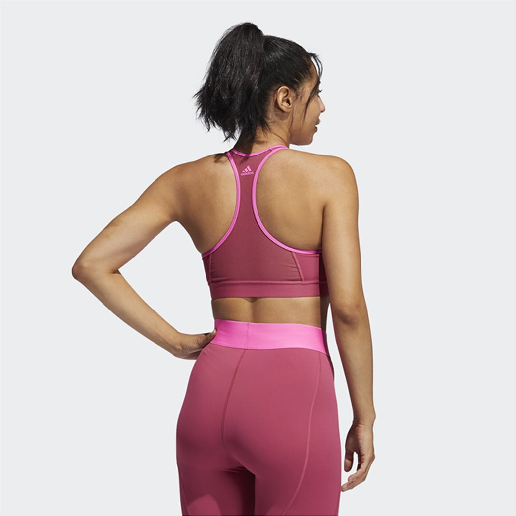Adidas γυναικείο αθλητικό μπουστάκι ''Don't Rest'' Ροζ 2