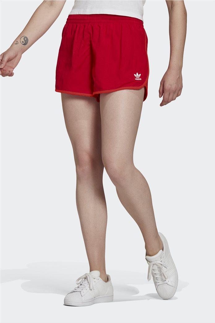 Adidas γυναικείο αθλητικό σορτς ''Adicolor Classics 3-Stripes'' Κόκκινο 0