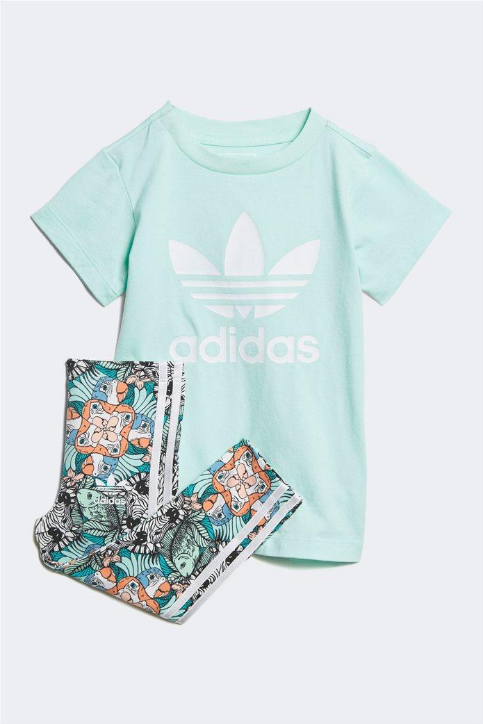 Adidas βρεφικό σετ κολάν και μπλούζα  Zoo Tee 0