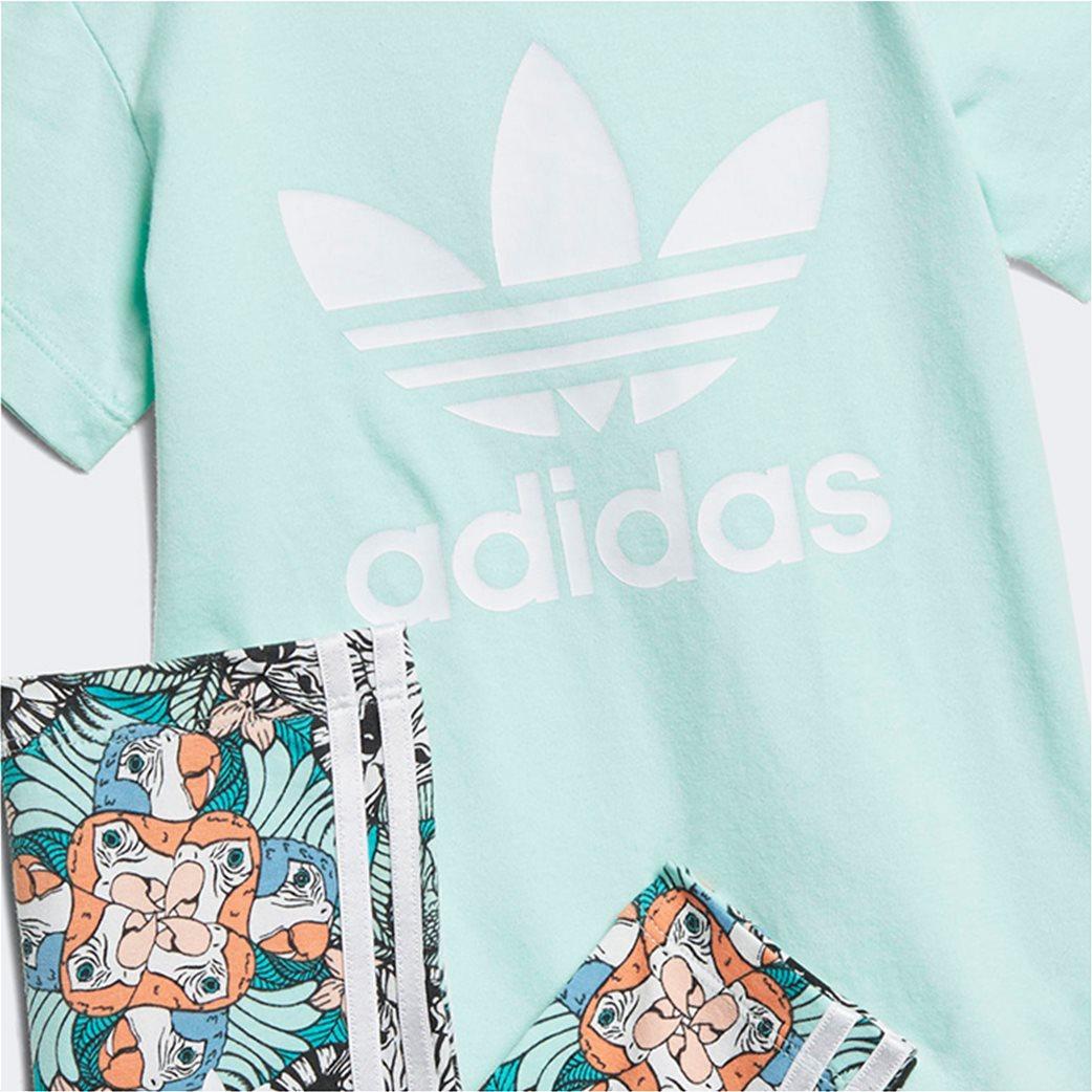 Adidas βρεφικό σετ κολάν και μπλούζα  Zoo Tee 1
