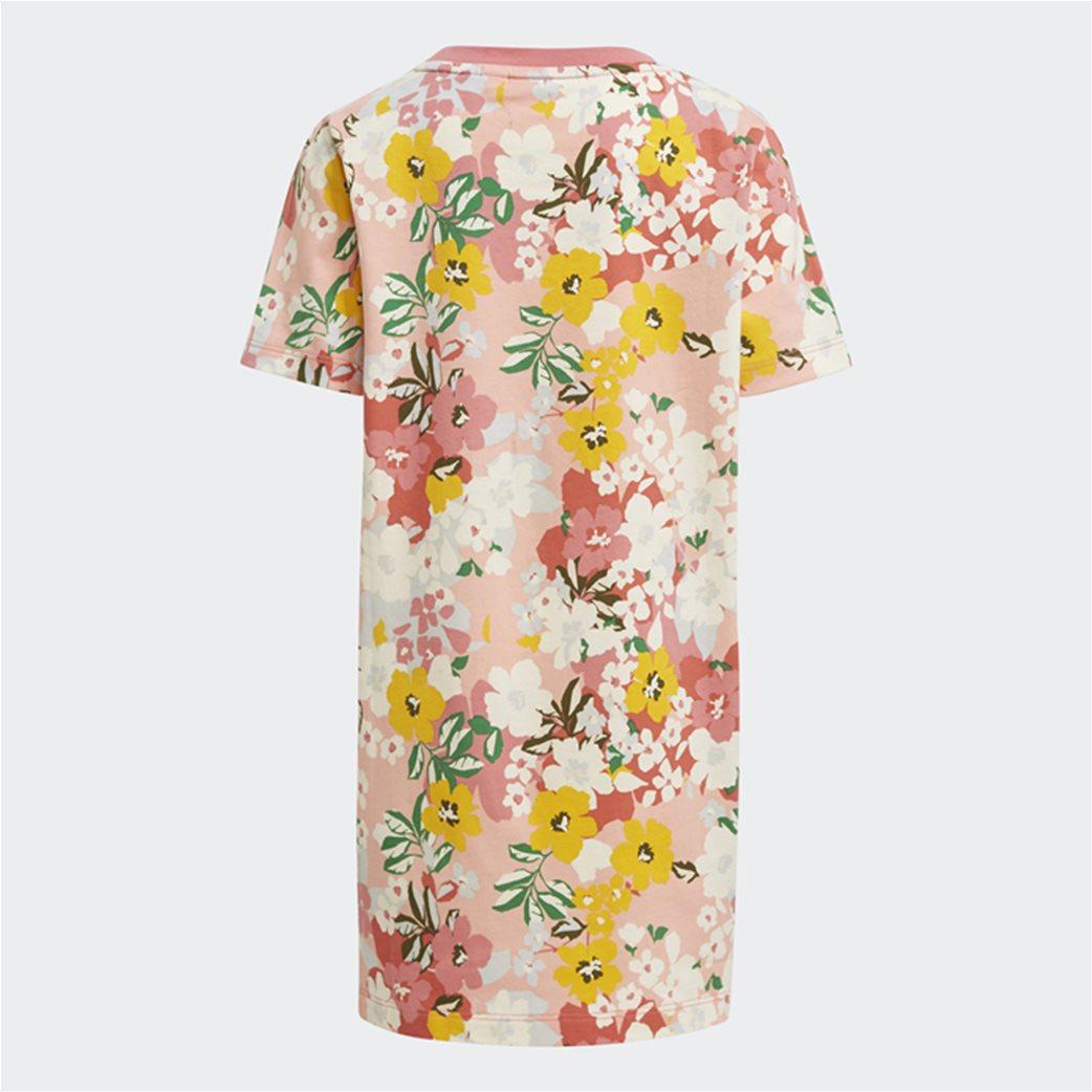 Adidas παιδικό σετ ρούχων με floral print 4
