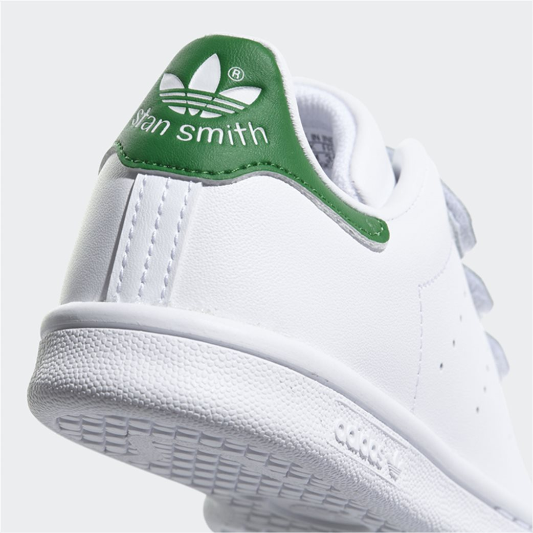 Adidas παιδικά αθλητικά παπούτσια Stan Smith (8-16 ετών) 2