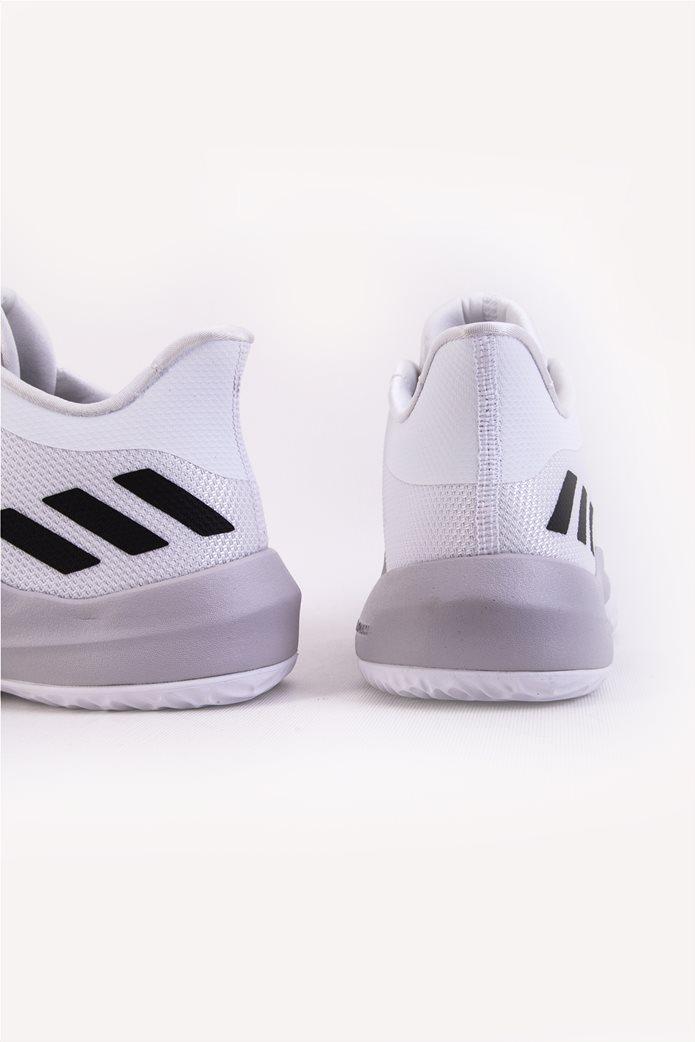 Παιδικά λευκά αθλητικά παπούτσια μπάσκετ Rise Up 2 Adidas 2