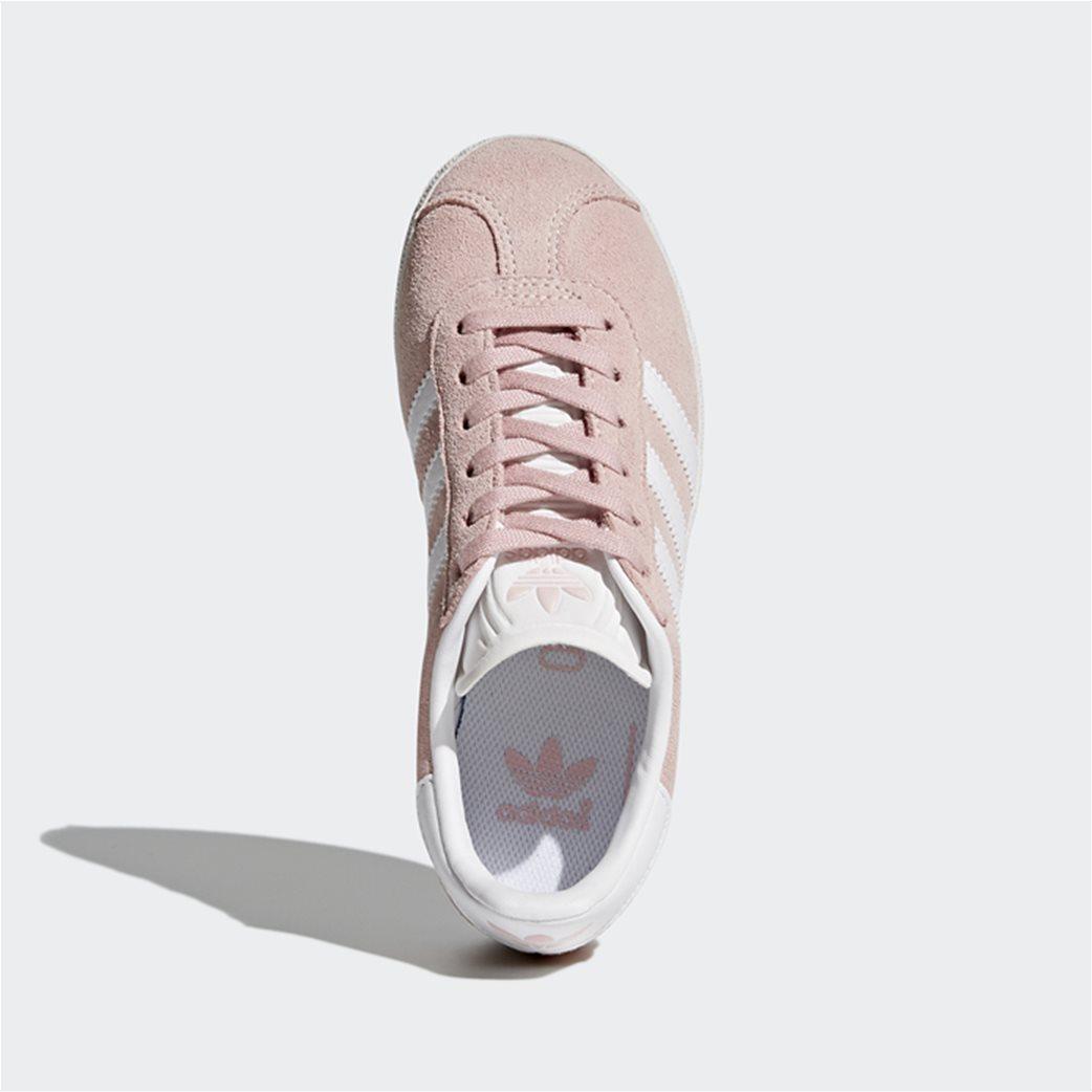 "Adidas παιδικά sneakers με κορδόνια  ""Gazelle C"" 4"