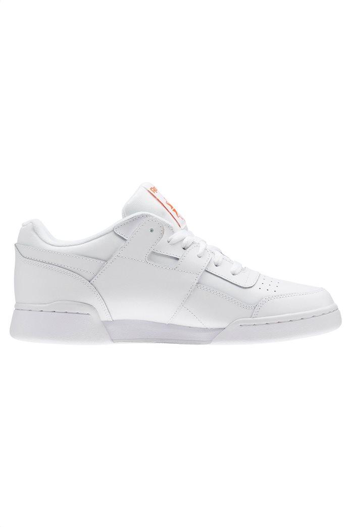Reebok ανδρικά αθλητικά παπούτσια λευκά Workout Plus MU 0
