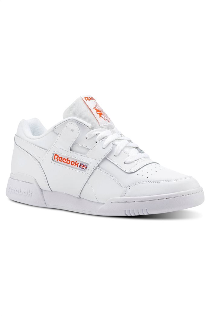 Reebok ανδρικά αθλητικά παπούτσια λευκά Workout Plus MU 1