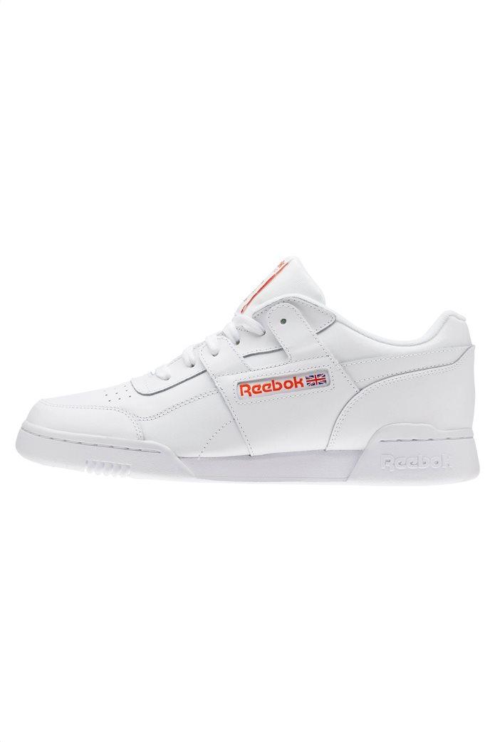 Reebok ανδρικά αθλητικά παπούτσια λευκά Workout Plus MU 2