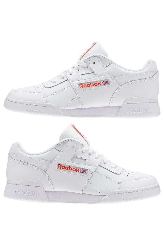 Reebok ανδρικά αθλητικά παπούτσια λευκά Workout Plus MU 6