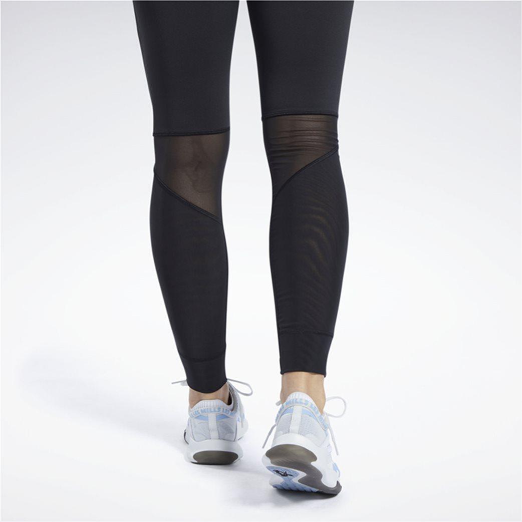 Reebok γυναικείο αθλητικό μονόχρωμο κολάν ''Crossfit® Mesh Lux'' 4