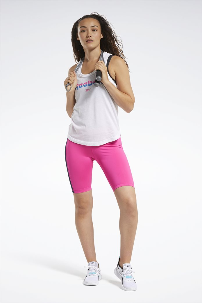 Reebok γυνακεία αθλητική αμάνικη μπλούζα ''ΜΥΤ'' Λευκό 1