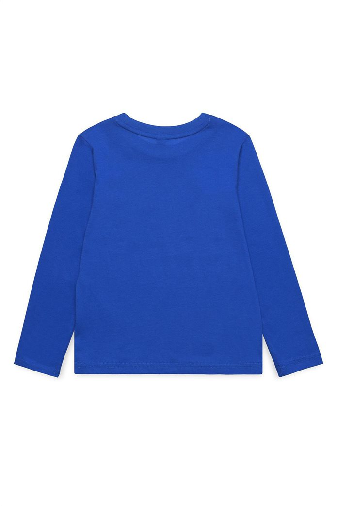 Esprit παιδικό μακρυμάνικο μπλουζάκι με letter print Play Like A Champion 1