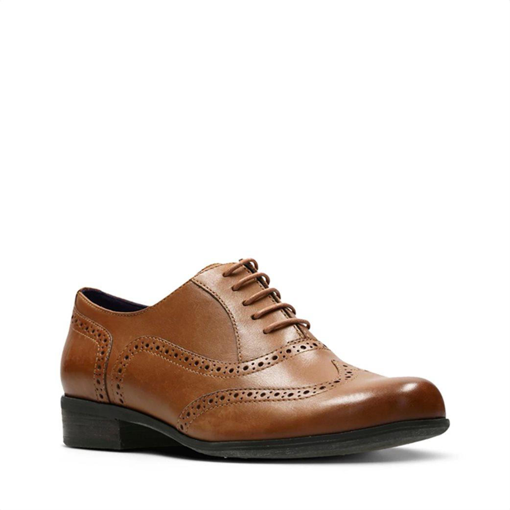"Clarks γυναικεία παπούτσια λουστρίνι Oxford ""Hamble Oak"" 1"