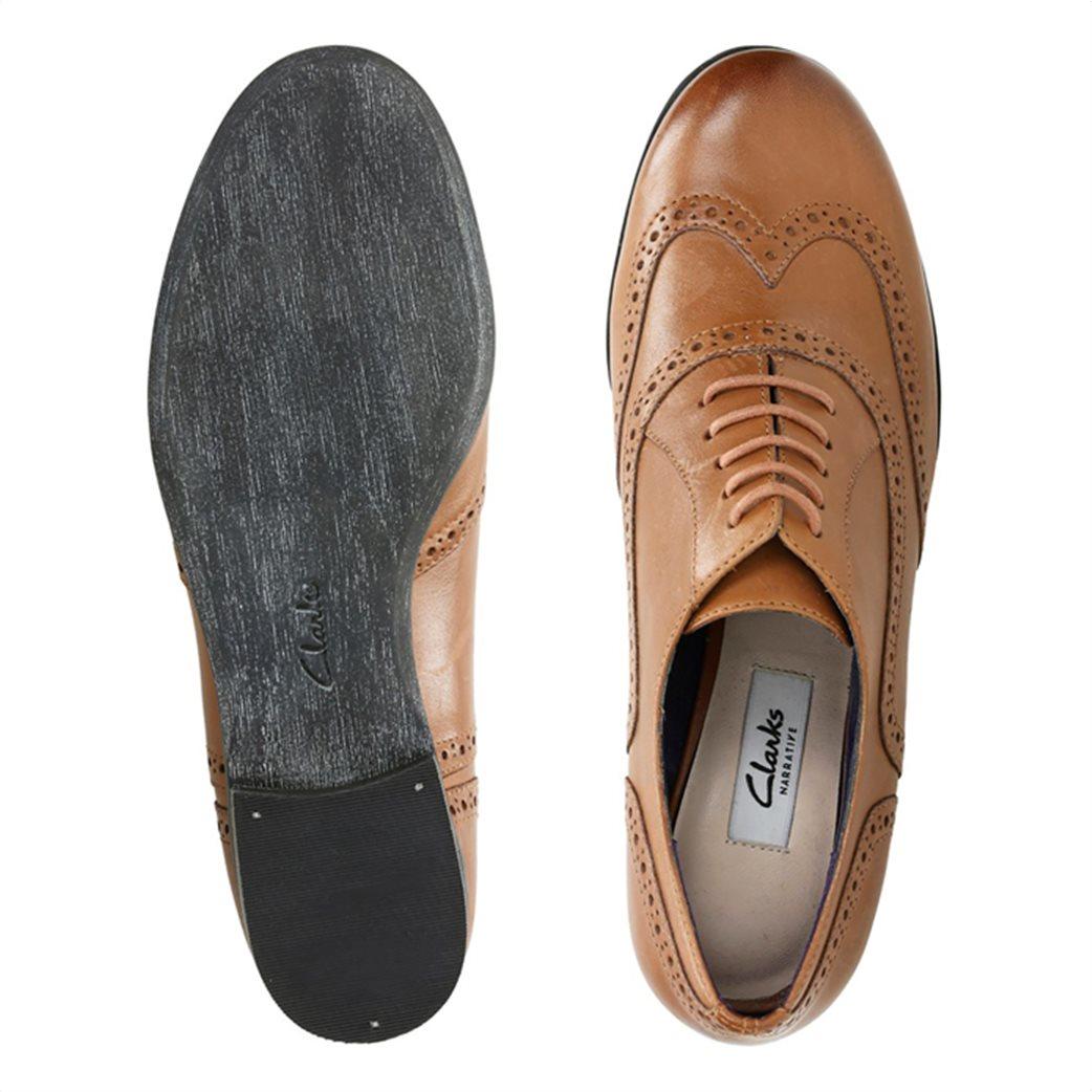 "Clarks γυναικεία παπούτσια λουστρίνι Oxford ""Hamble Oak"" 4"
