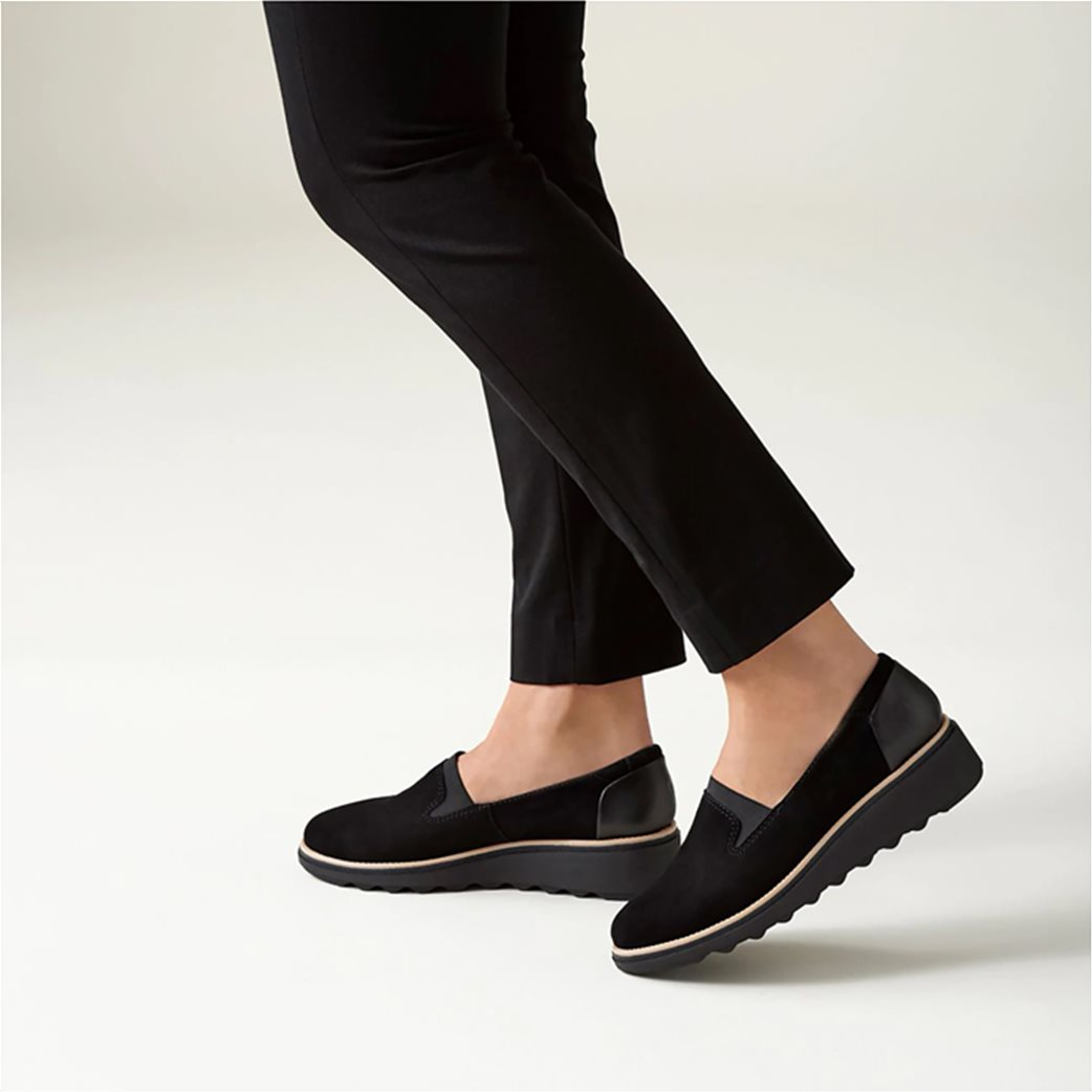 "Clarks γυναικεία παπούτσια slip on ""Sharon Dolly"" 1"