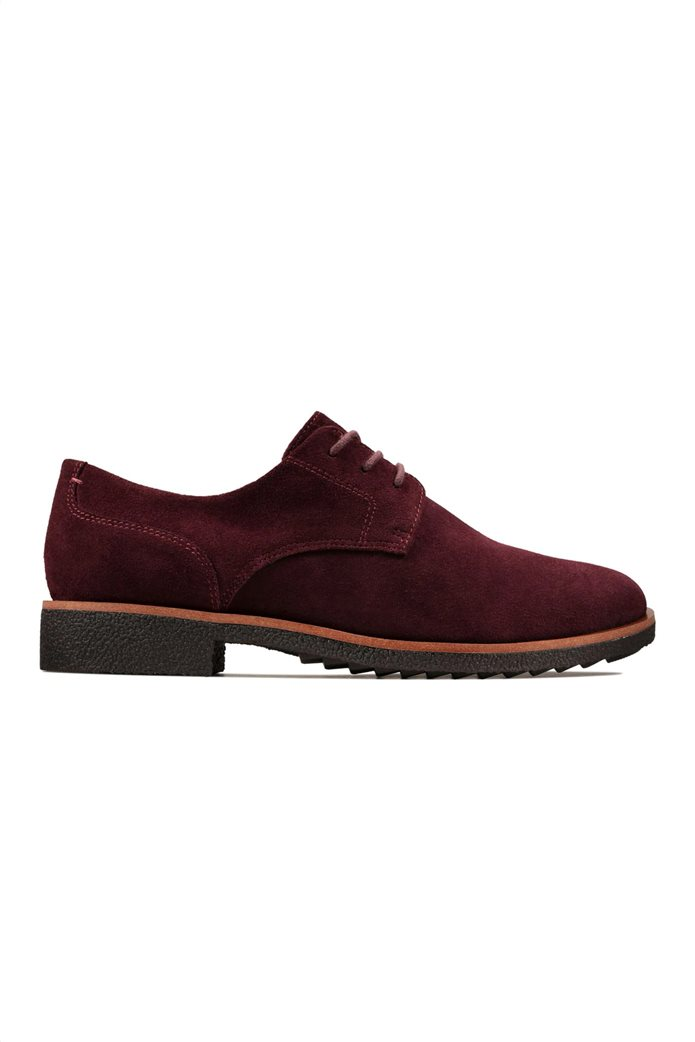 "Clarks γυναικεία παπούτσια suede Oxford ""Griffin Lane"" 0"