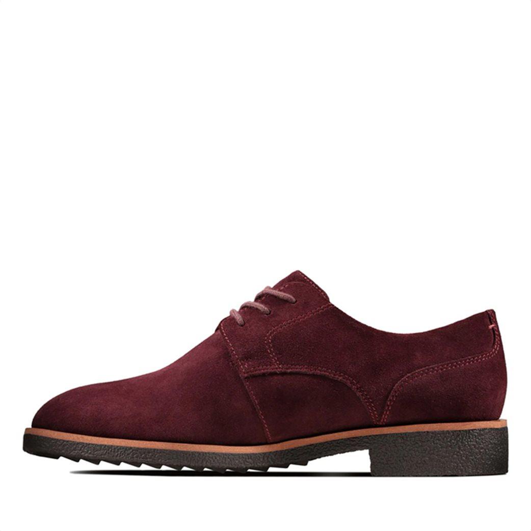 "Clarks γυναικεία παπούτσια suede Oxford ""Griffin Lane"" 3"