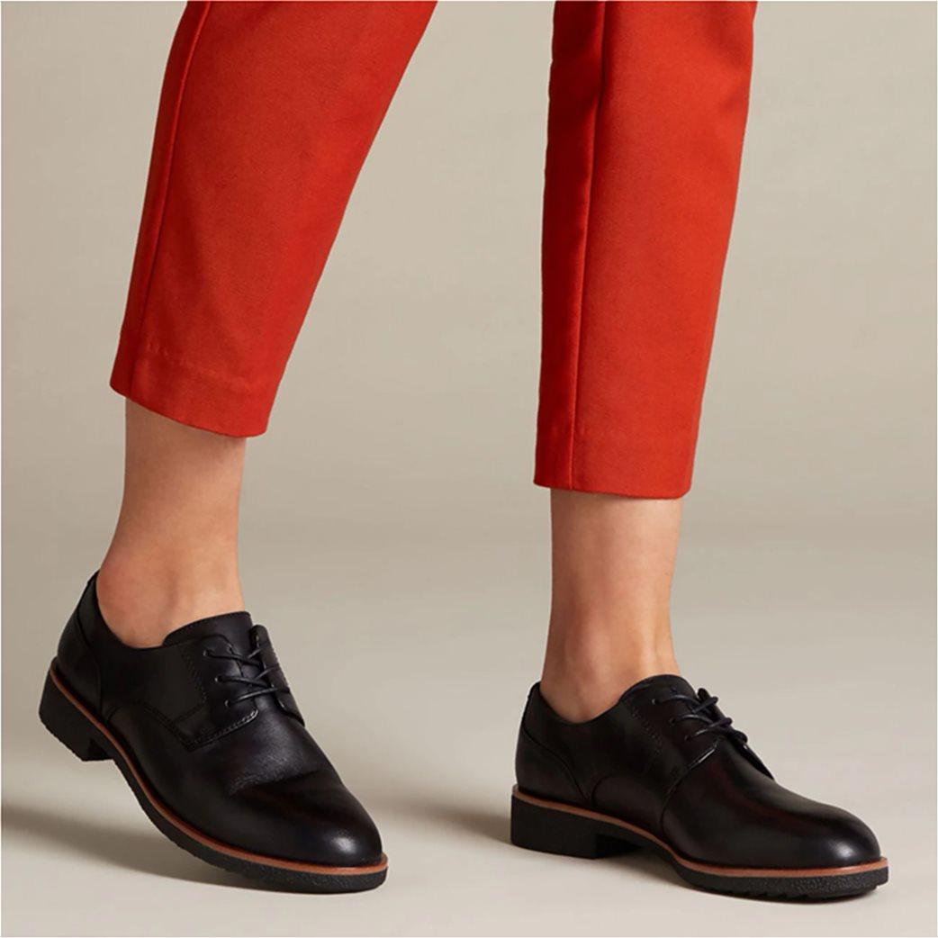 "Clarks γυναικεία δερμάτινα παπούτσια Oxford ""Griffin Lane"" 3"