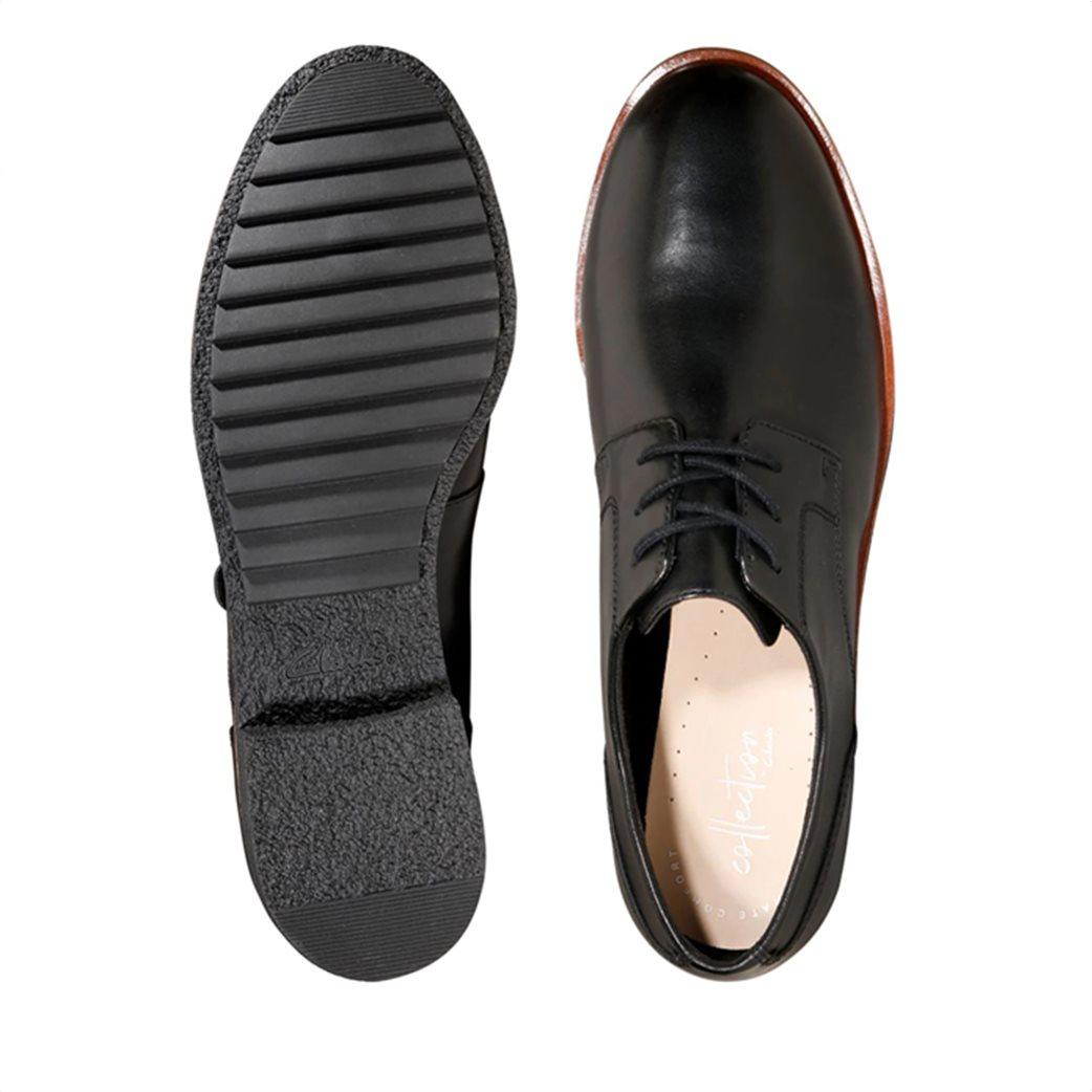 "Clarks γυναικεία δερμάτινα παπούτσια Oxford ""Griffin Lane"" 4"