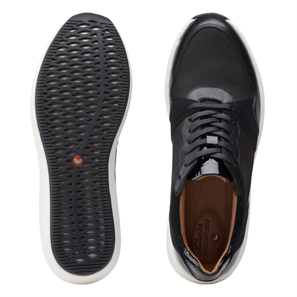 Clarks γυναικεία sneakers με suede λεπτομέρειες ''Un Rio Run'' 4