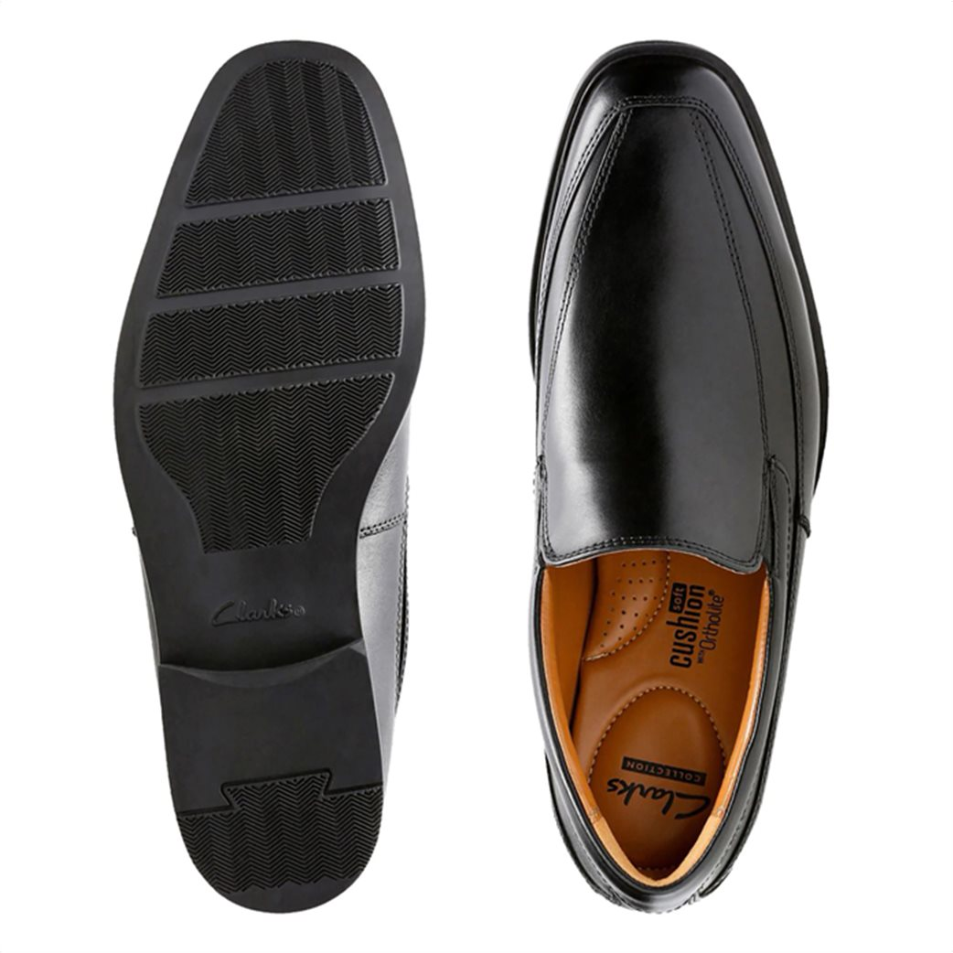 """Clarks ανδρικά δερμάτινα loafers """"Tilden Free"""" 4"""