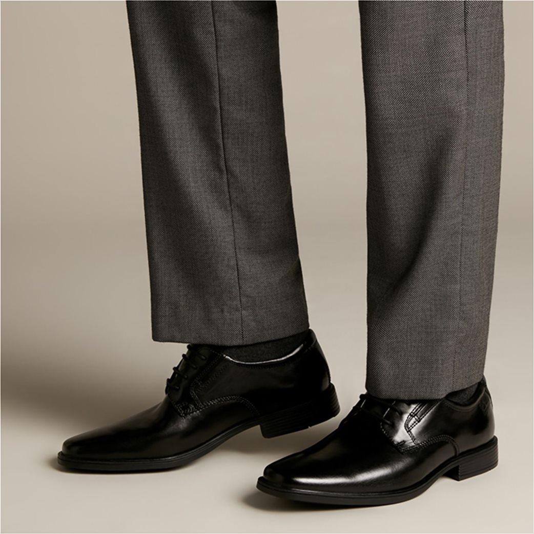 "Clarks ανδρικά δερμάτινα παπούτσια oxford ""Tilden Plain"" 1"