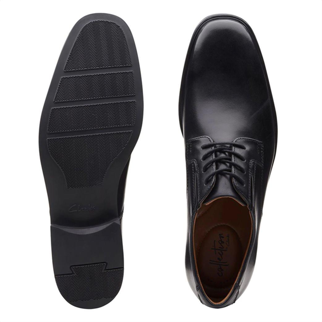 "Clarks ανδρικά δερμάτινα παπούτσια oxford ""Tilden Plain"" 4"