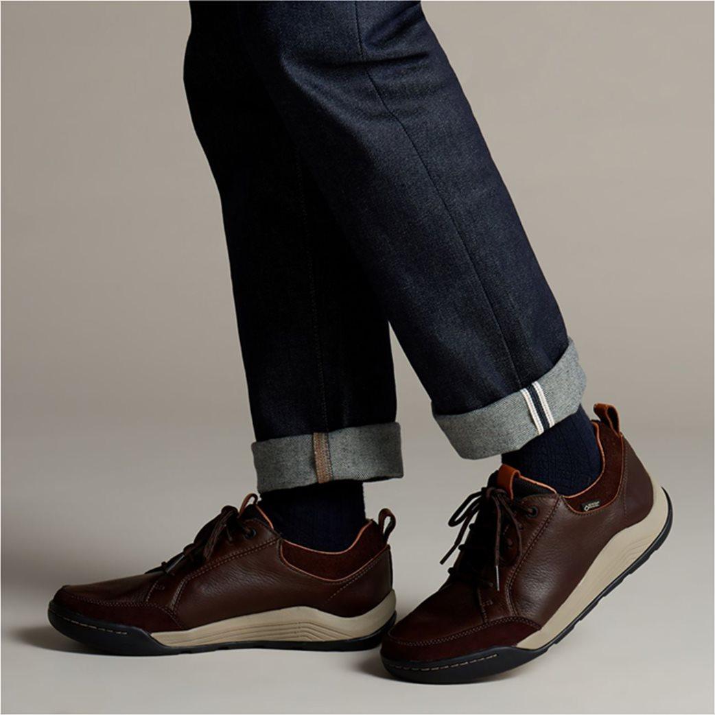 "Clarks ανδρικά casual παπούτσια με κορδόνια ""Ashcombe Bay GORE-TEX"" 1"