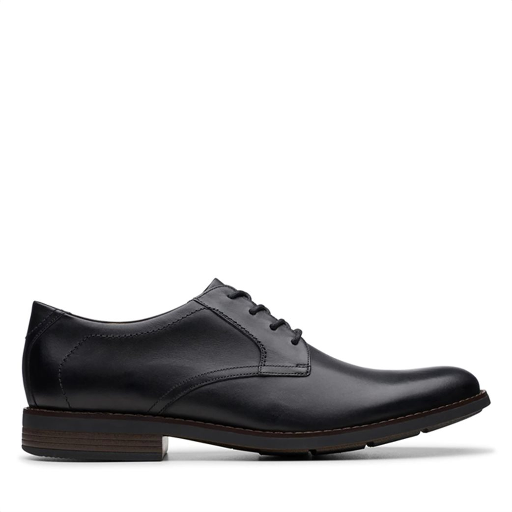 "Clarks ανδρικά δερμάτινα παπούτσια oxford ""Becken Lace"" 2"