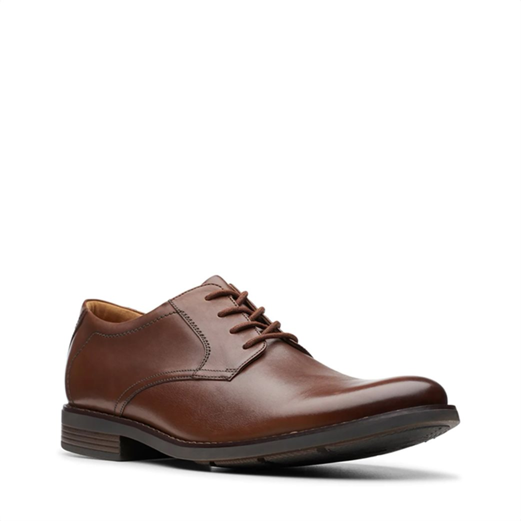 """Clarks ανδρικά δερμάτινα παπούτσια oxford """"Becken Lace"""" 1"""