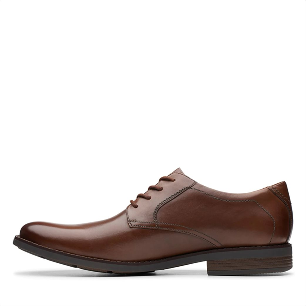 """Clarks ανδρικά δερμάτινα παπούτσια oxford """"Becken Lace"""" 3"""