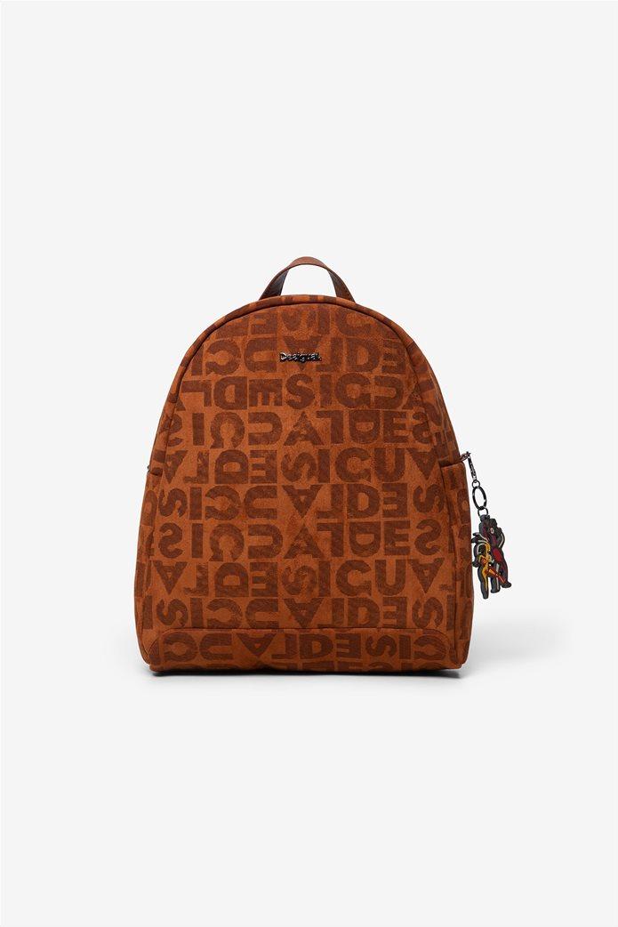 "Desigual γυναικείο backpack ""Logomania"" 0"