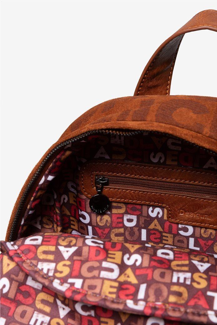"Desigual γυναικείο backpack ""Logomania"" 3"