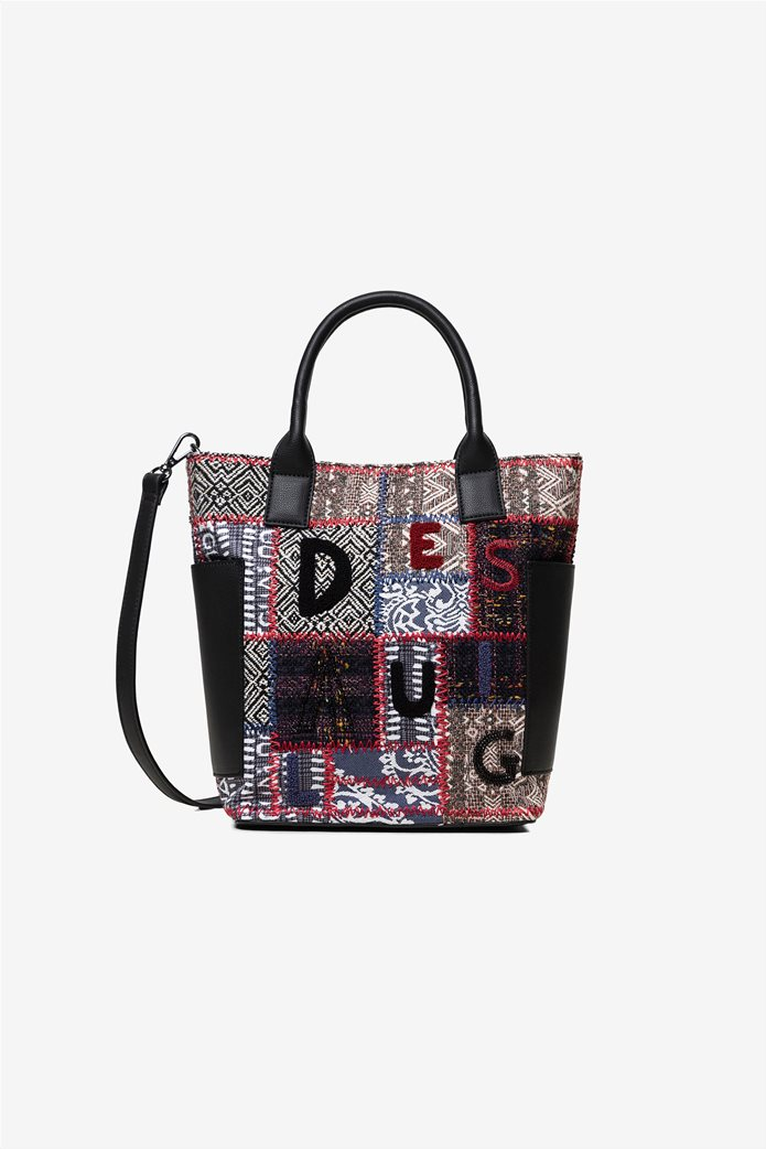 "Desigual γυναικεία τσάντα χειρός με patches ""Patch 1968 Shibuya"" 0"
