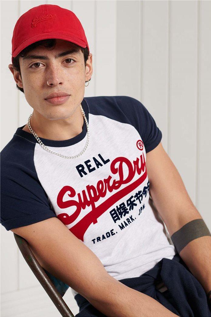 "Superdry ανδρικό T-shirt με απλικέ λογότυπο ""Vintage Logo Duo"" 2"