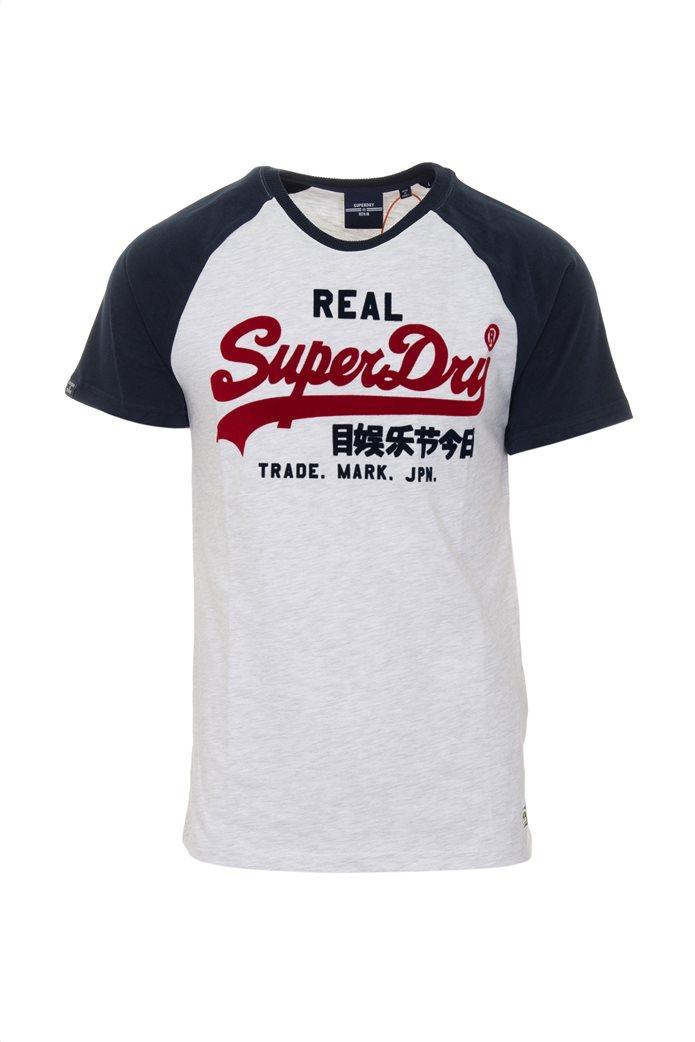 "Superdry ανδρικό T-shirt με απλικέ λογότυπο ""Vintage Logo Duo"" 3"