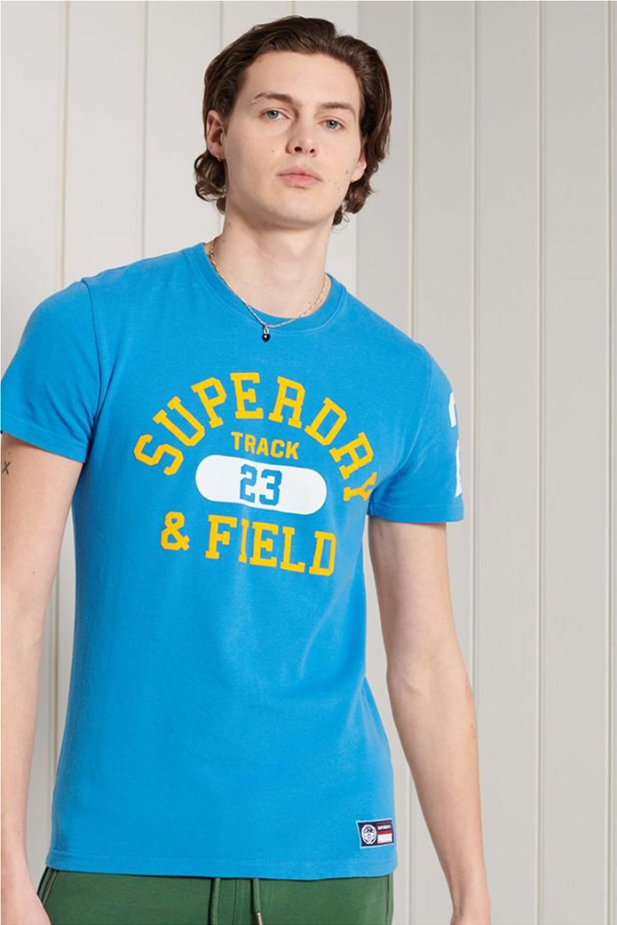 """Superdry ανδρικό T-shirt με logo letter print """"Track & Field Graphic"""" 0"""