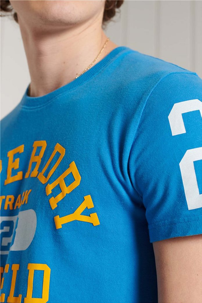 """Superdry ανδρικό T-shirt με logo letter print """"Track & Field Graphic"""" 3"""