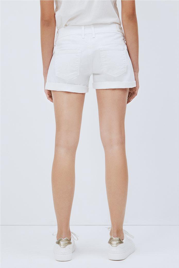 """Pepe Jeans γυναικείο denim σορτς πεντάτσεπο """"Siouxie"""" 2"""
