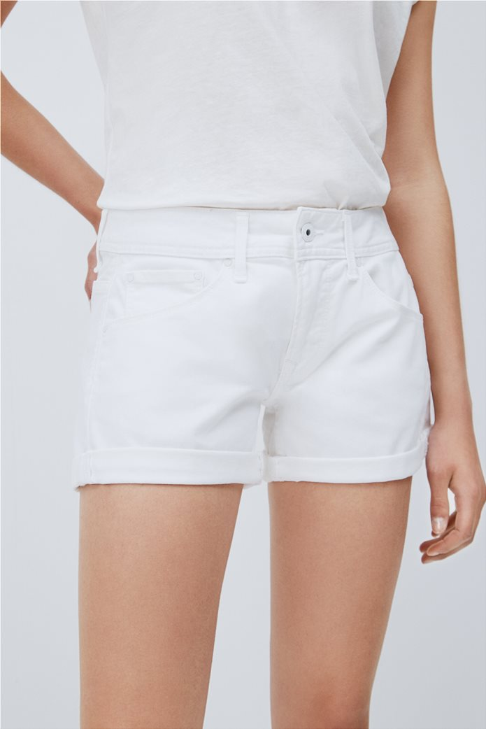 """Pepe Jeans γυναικείο denim σορτς πεντάτσεπο """"Siouxie"""" 3"""