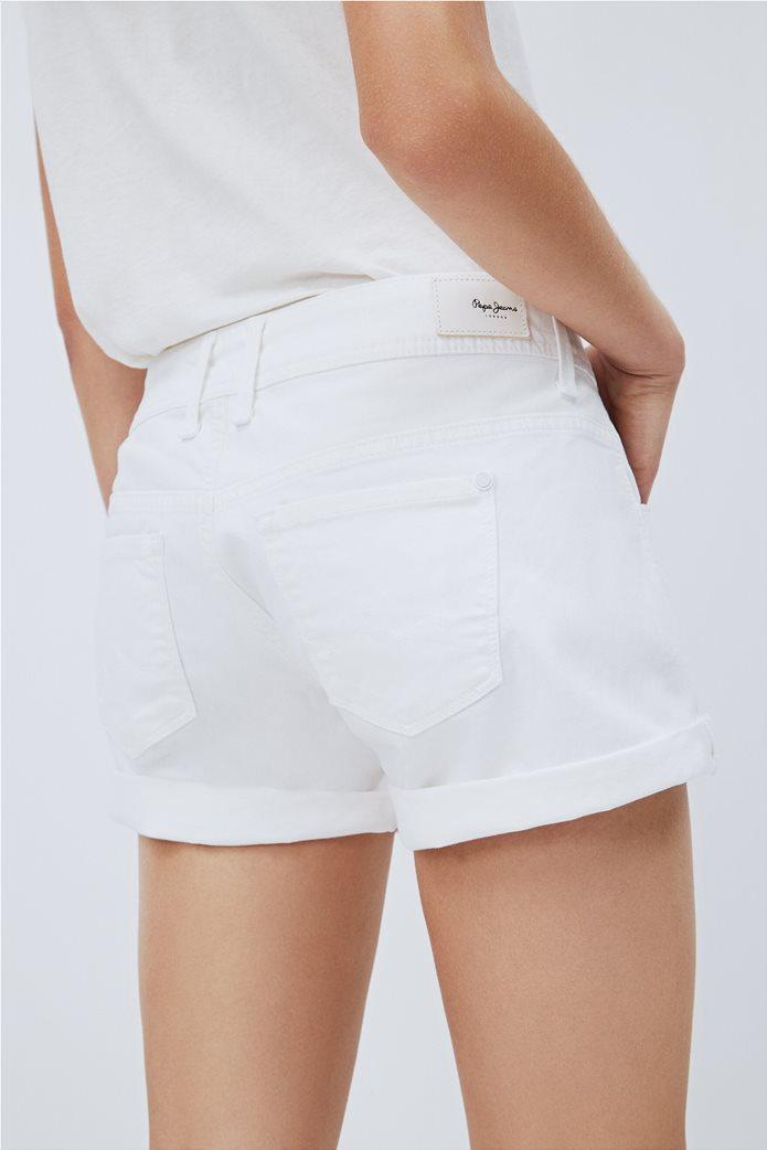 """Pepe Jeans γυναικείο denim σορτς πεντάτσεπο """"Siouxie"""" 4"""