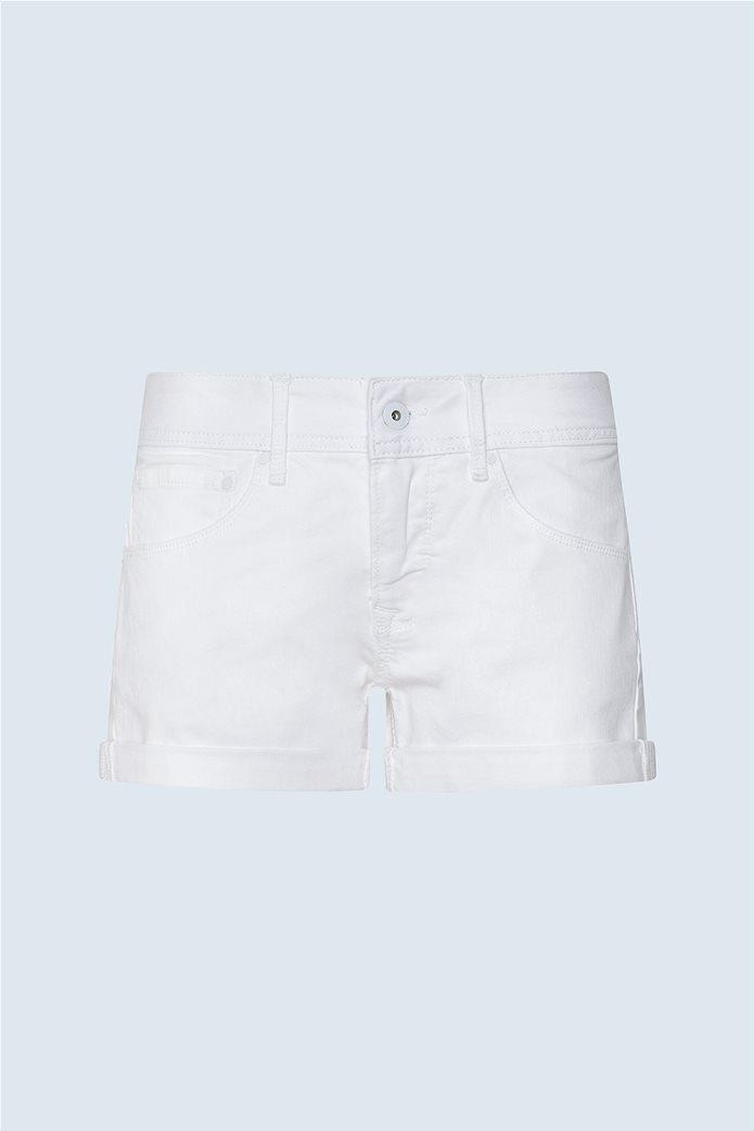 """Pepe Jeans γυναικείο denim σορτς πεντάτσεπο """"Siouxie"""" 5"""