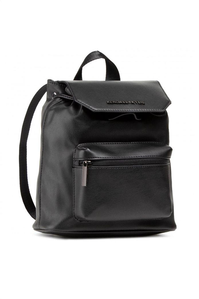 "Kendall + Kylie γυναικείο backpack με μεταλλικό λογότυπο ""Serena"" 0"