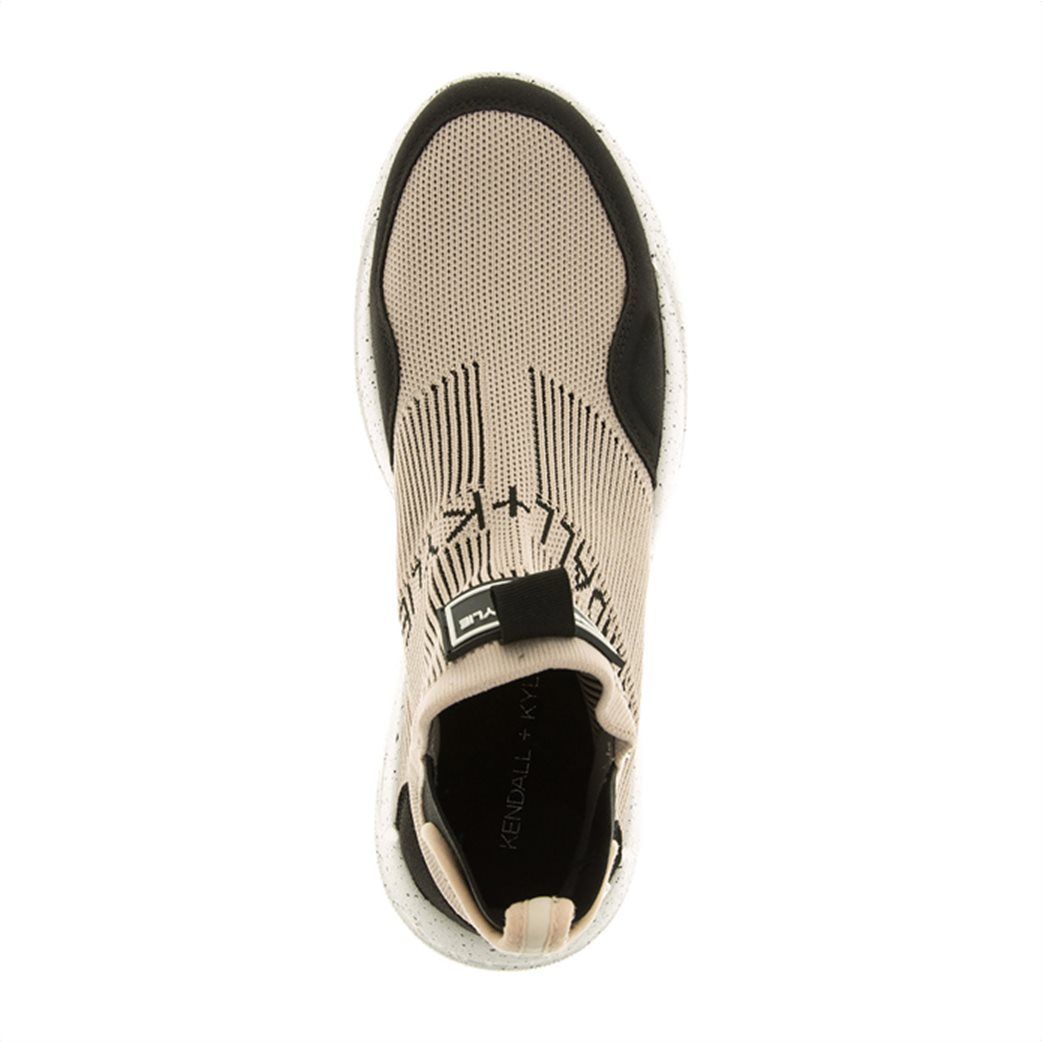 Kendall + Kylie γυναικεία sneakers μποτάκια με logo patch ''Niv'' Άσπρο 3