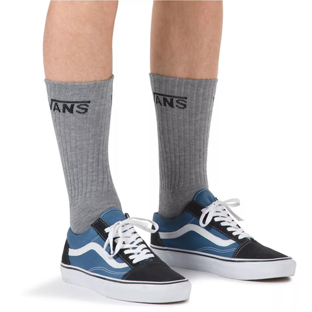 Vans ανδρικές κάλτσες ΜΝ Classic Crew (3 ζεύγη) Γκρι 1