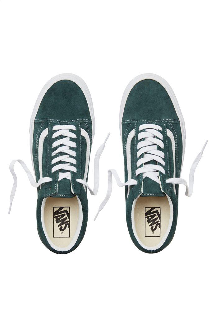 Vans unisex sneakers Suede Old Skool με λευκή ρίγα 1