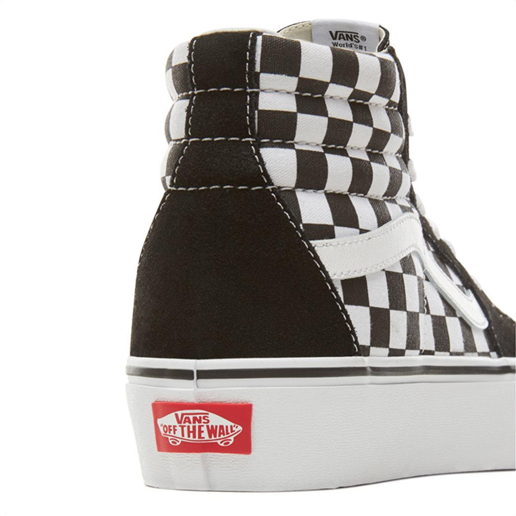 03f2cf97f4 Vans γυναικεία μποτάκια sneakers Suede Checkerboard SK8-HI Platform 2.0 5