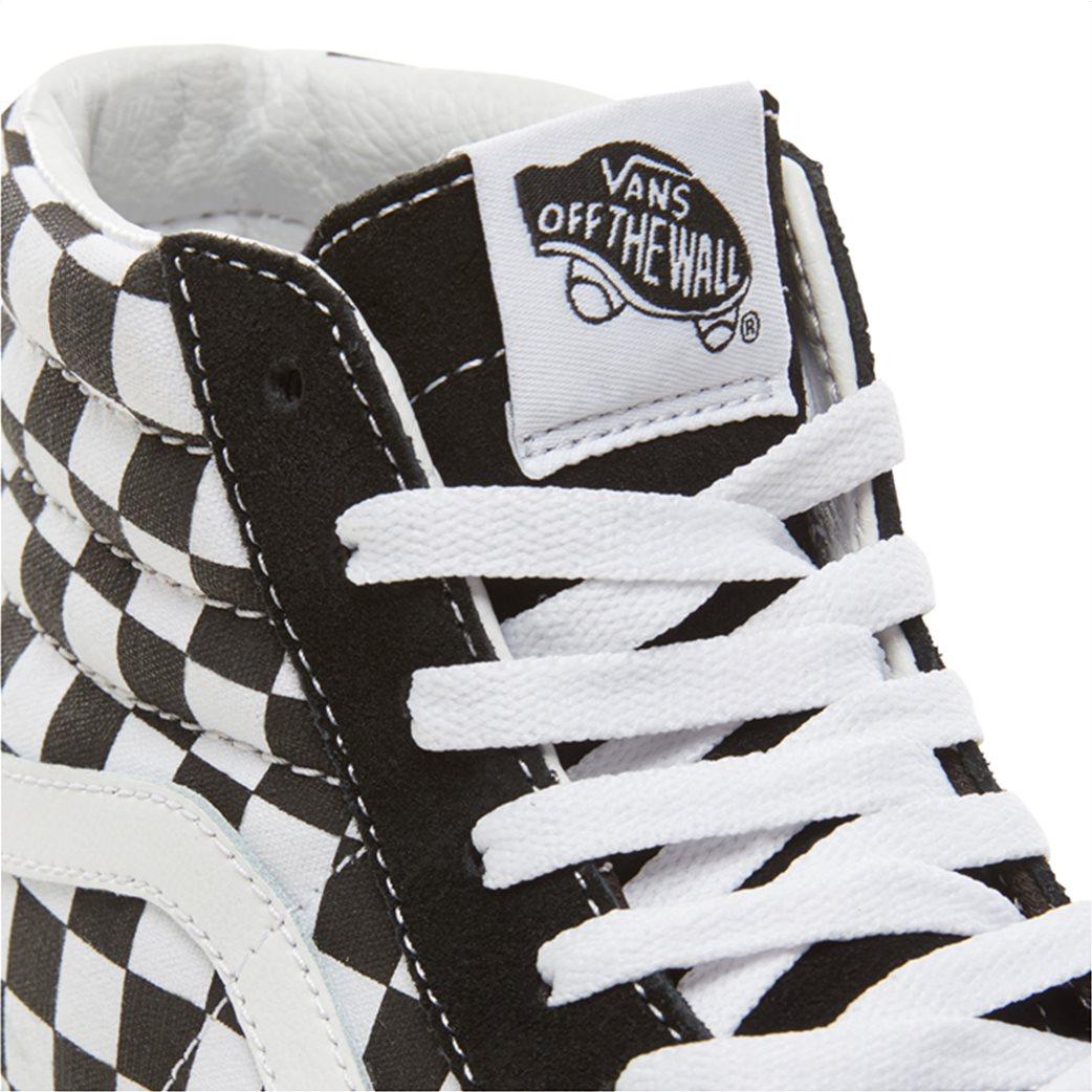 a84bcacda5 Vans γυναικεία μποτάκια sneakers Suede Checkerboard SK8-HI Platform 2.0 6