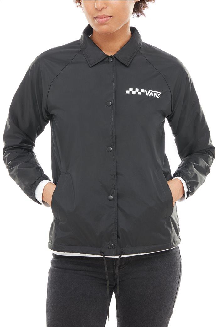 Vans γυναικείο jacket με γιακά Thanks Coach 1