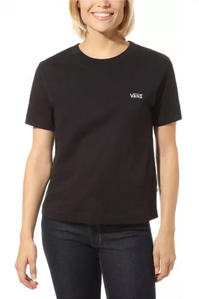 "Vans γυναικείο T-shirt μονόχρωμο ""Junior Boxy"" 0"